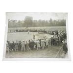 Abe Mitchell v George Duncan Match at Roehampton Daily Mail Photo - Victor Forbin Collection