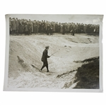 Duncan in The Great Golf Match - Gutty v Rubber Core Alfieri Picture Service Photo - Victor Forbin Collection