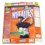 Tiger Woods Signed Wheaties Our Newest Champion Commemorative Box FULL JSA #BB46583