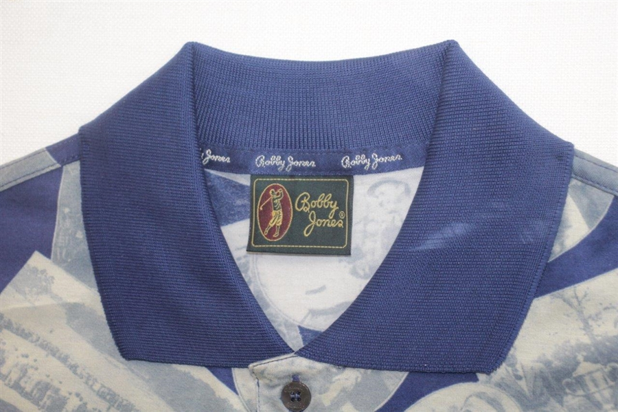Ben Crenshaw Signed Bobby Jones Style 1995 Masters Winning Shirt Example with Inscription JSA ALOA