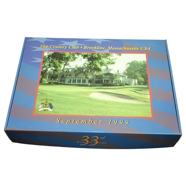 1999 Ryder Cup at Brookline Deluxe Special Ltd Ed Book for the PGA by Fede Perex with Slipcase & Box