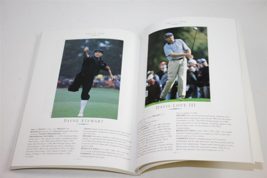 1999 Ryder Cup at Brookline Program, Ticket Set (x3), Spec Guide (x4), Comm Guide, SI, Golf World, & more