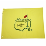 Mark OMeara Signed Undated Masters Embroidered Flag with 1998 JSA ALOA