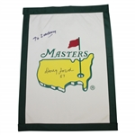 Doug Ford Signed Undated Masters Garden Flag with 57 & Personalization JSA ALOA