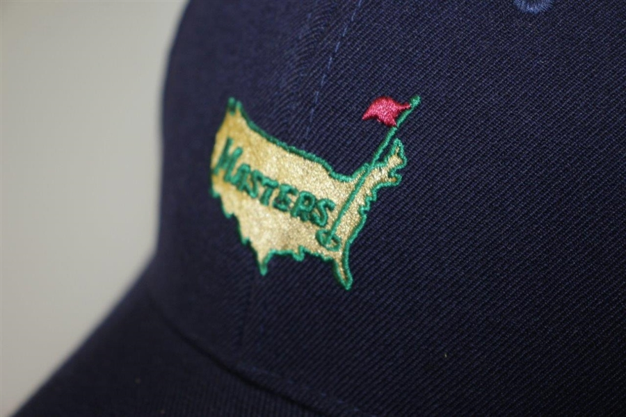 Augusta National Masters Navy Blue Strap Back Hat w/ Logo