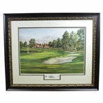 Atlanta Athletic Club Highland Course #18 Print #106/850 Signed by Artist Steve Lotus with 2001 PGA