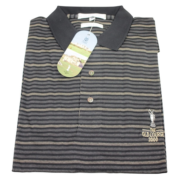 St. Andrews Links 'The Old Course 2000' Collection Golf Shirt XL - Unused