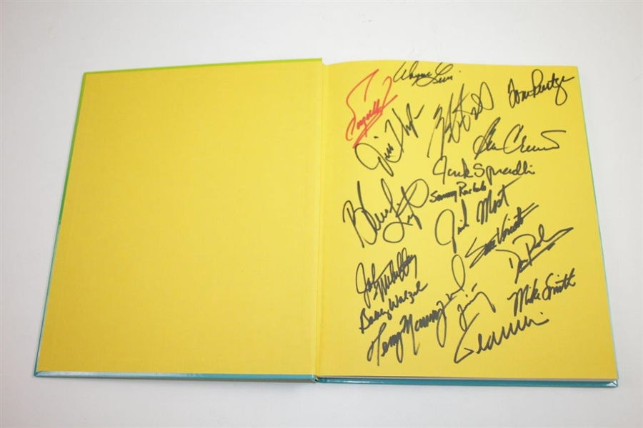 Palmer, Nicklaus, Player, Trevino, Watson, & others Signed Senior Tour Wives Cookbook JSA ALOA