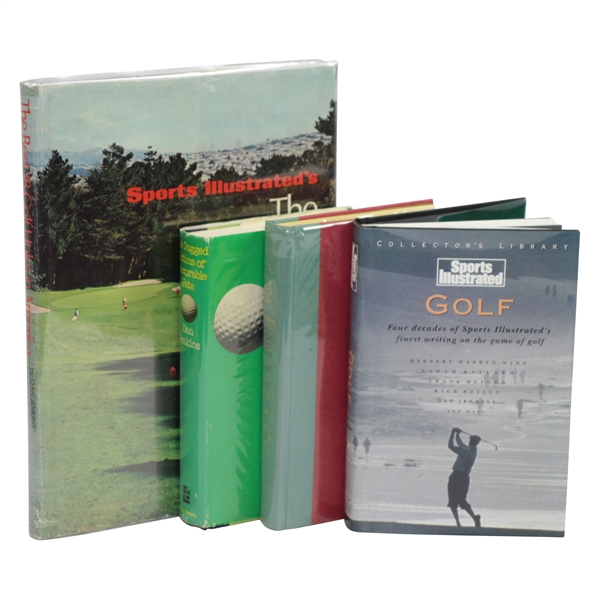 Four(4) Dan Jenkins Signed & Personalized Golf Books JSA ALOA