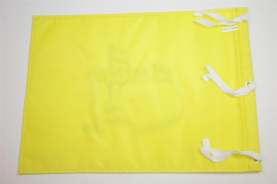 Jack Nicklaus Signed Masters Undated Flag with Years Won Notation JSA ALOA