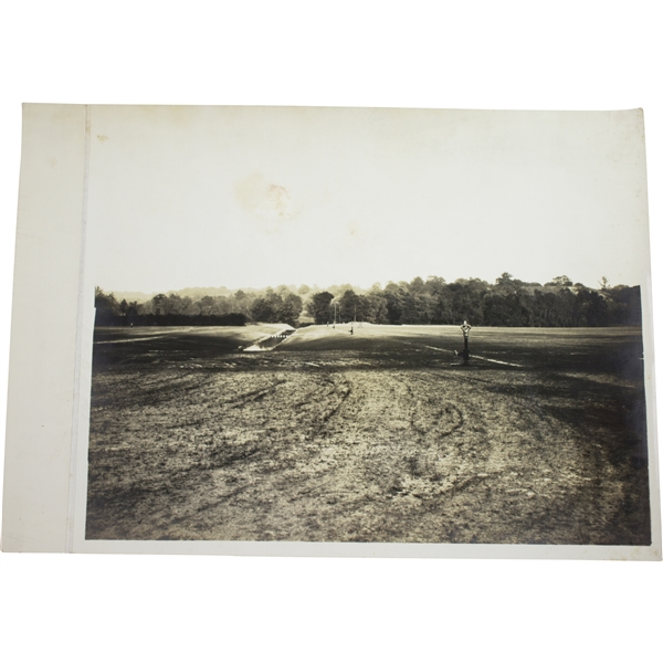 Vintage 1930's Universal System Watering Fields Photo - Wendell P. Miller Collection