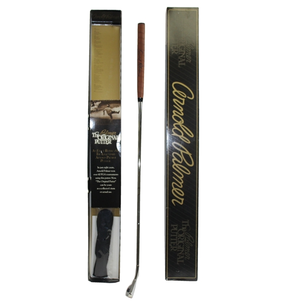 Arnold Palmer Signed 'The Palmer Original Putter' in Original Box