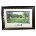 Atlanta Athletic Club Highland Course #17 Print #105/850 Signed by Artist Steve Lotus with 2001 PGA