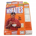 Tiger Woods Signed Wheaties Breakfast of Champions Box JSA FULL #BB46585