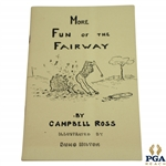 1945 More Fun of the Fairway Book by Campbell Ross & Illustrated by Bung Hilton