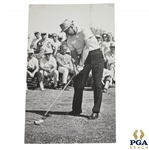 Sam Snead 5x8 Moment of Impact Photo by Chuck Brenkus