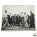Original Byron Nelson 1944 Rehabilitation Too Much Nelson Tommy Weber 8x10 Photo