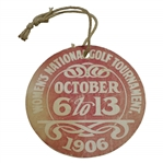 1906 Womens US Amateur Championship at Brae Burn CC Guest Badge - Only One Known!