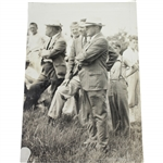 Bobby Jones Type 1 Wire Photo Return to Merion for 1934 US Open - Excellent Clarity