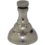 Vintage Metal Bell Horn Shaped Compression Sand Tee Mold - Pat. Apld For