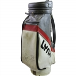 "Moe Normans Personal Used Lynx Golf Bag ""The Straightest"""