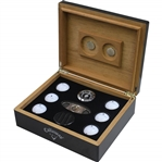 The CapCana Championship Callaway Golf Ball Set Humidor with Cigar Cutter - Bobby Wadkins Collection