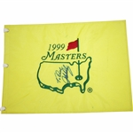 John Daly Signed 1999 Masters Tournament Embroidered Flag with Personalization JSA ALOA