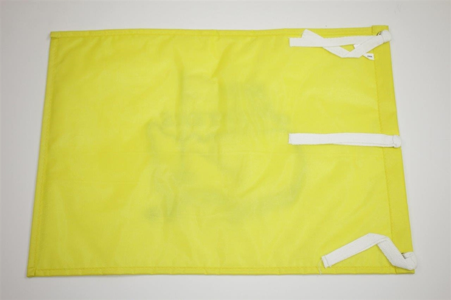 Arnold Palmer Signed 2000 Masters Tournament Embroidered Flag JSA ALOA
