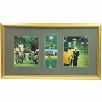 1999 The Ryder Cup at The Country Club Brookline Pairing Sheet with Photos Display - Framed