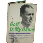 "Robert ""Bobby"" T. Jones Jr. Signed 1960 Golf Is My Game Book Pers. to Charles Hucke JSA ALOA"