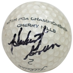 Hubert Green Signed Course Used Practice Cherry Hills CC Logo Golf Ball - Site of 85 Win JSA ALOA