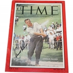 Arnold Palmer Signed 1960 TIME Magazine - May 2nd JSA ALOA
