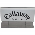 Small Excellent Condition Callaway Golf Sign