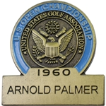 Arnold Palmer 1960 US Open Commemorative Contestant Badge - 2017 US Open Ltd Ed