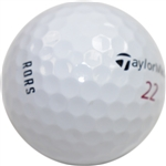 Rory McIlroy Personal TaylorMade 22 RORS Logo Golf Ball
