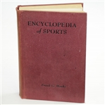 1944 Encyclopedia of Sports Book by Frank G. Menke - Charles Price Collection