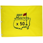 Fifty 2017 Masters Tournament Official Embroidered Flags (50)