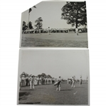 1933 US Open at North Shore GC Wire Photos - Johnny Revolta & Johnny Farrell