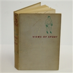 1954 Views of Sport Book by Red Smith - The Charles Price Collection