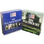 1991 & 1992 Complete Unopened PGA Tour Set Golf Cards - Bobby Wadkins Collection