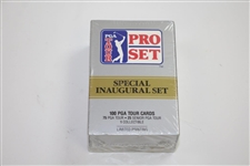 Special Inaugural Set of Unopened PGA Tour Pro-Set Golf Cards - Bobby Wadkins Collection