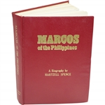 Marcos of the Philippines Book Signed by Hartzell Spence to Bobby Wadkins JSA ALOA