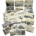 Walter Hagen Personal Vintage World Tour Photos - Golfing, Hunting, Pyramids, Safari, and more!