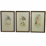 Three A Novice Dormy & MacFoozle - Chief of the Clan Golfers of 1905 Framed Prints