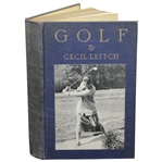1922 Golf Book by Cecil Leitch