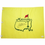 Jack Nicklaus Signed Masters Undated Flag with Years Won Notation JSA FULL #BB46116