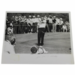 Arnold Palmer 1963 Ryder Cup Throwing Club Crisp 8x10 Wire Photo