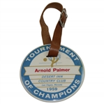 1959 Desert Inn Tournament of Champions Bag Tag - 3 Time Event Champ Arnold Palmer