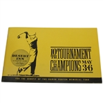 1962 Tournament of Champions Program - Arnold Palmer Win