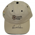 Arnold Palmer Signed Latrobe Country Club Umbrella Logo Hat JSA #Q49336